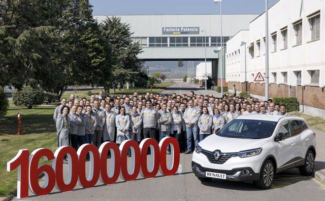 Palencia: el coche 16 millones de Renault España