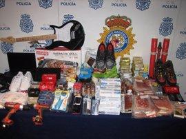 Detenidos diez integrantes de una banda criminal dedicada a hurtar en comercios de Mallorca