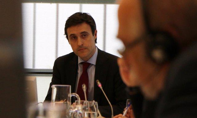El diputado de Hacienda Jabier Larrañaga