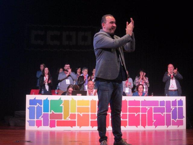 Javier Pacheco, CC.OO.