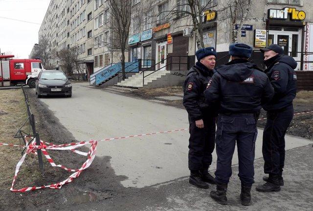Detenidas tres personas en San Petersburgo