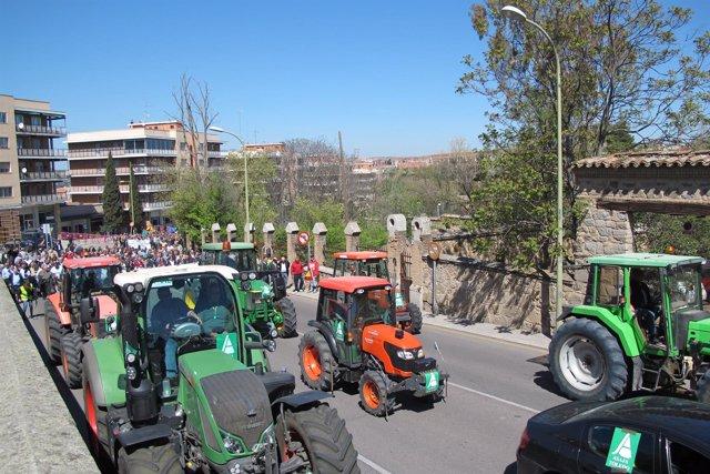 Manifestación De Asaja Toledo