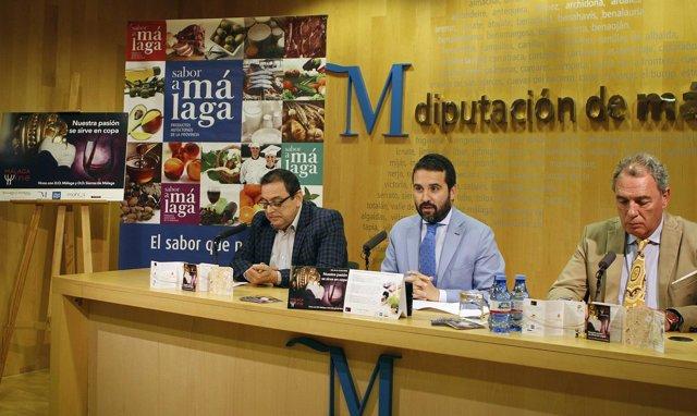 Florido presenta los vinos de Málaga