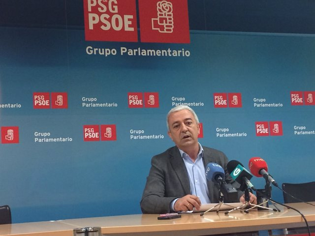El diputado socialista Luis Álvarez
