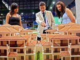 Salón Inmobiliario Viviendas Stock Casas