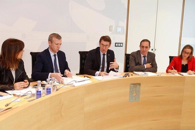 Reunión del Consello de la Xunta