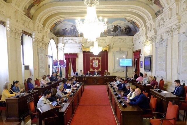 Pleno aprobación definitiva de presupuestos