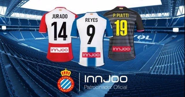 InnJoo, nuevo patrocinador del RCD Espanyol