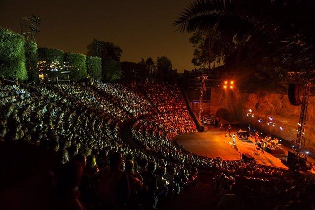 Anfiteatro del Teatre Grec de Barcelona