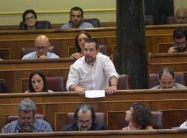 "Sergio Pascual (Podemos) critica que con el PGE ""el PP desconecta a Andalucía de Europa para las próxima décadas"""