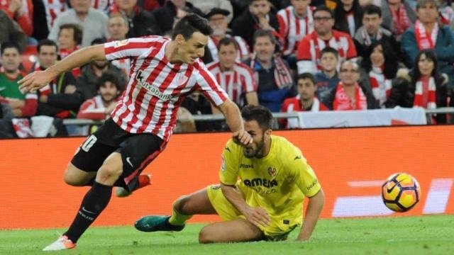 Aduriz en el Athletic - Villarreal