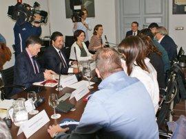 Gamarra destaca la importancia de la aprobación de los Presupuestos Generales para el desarrollo de los municipios