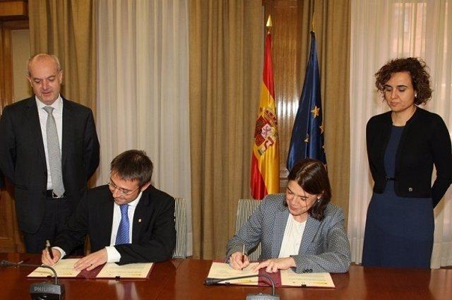 Firma de memorando de cooperación de la AEMPS y Andorra
