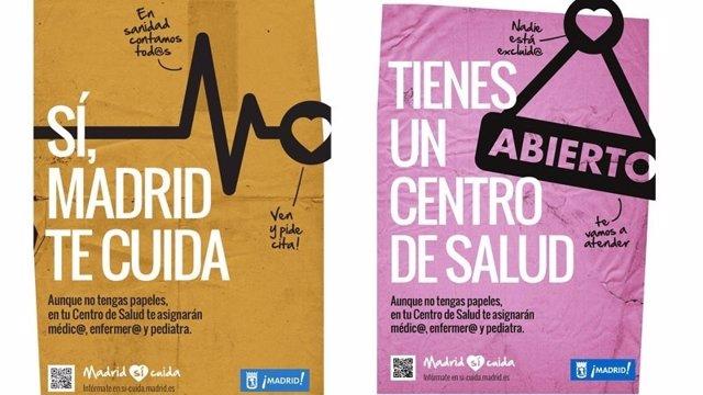 Campaña 'Sí, Madrid te cuida'