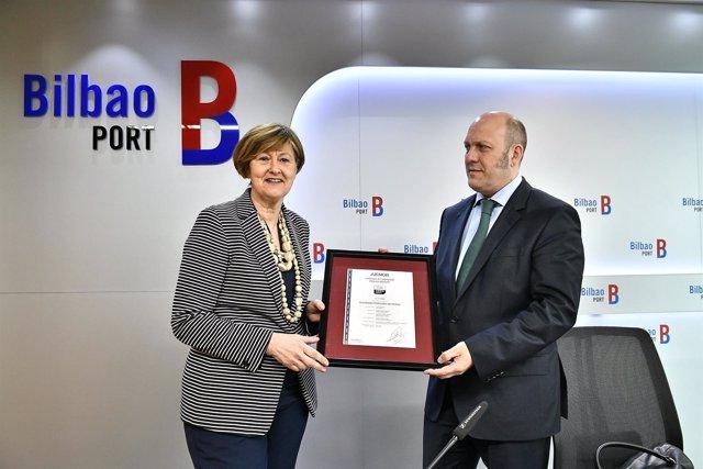 Certificación Aenor del Puerto de Bilbao
