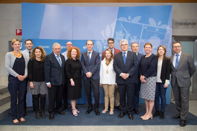 Representantes del Gobierno galés en Euskadi
