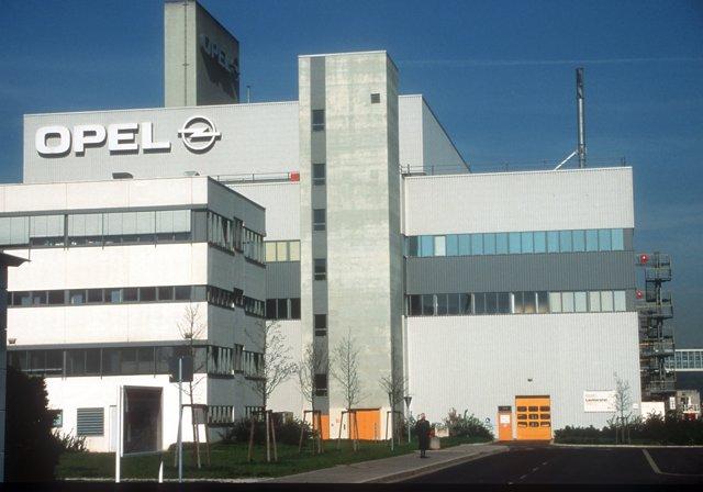 Planta De Opel En Eisenach (Alemania)