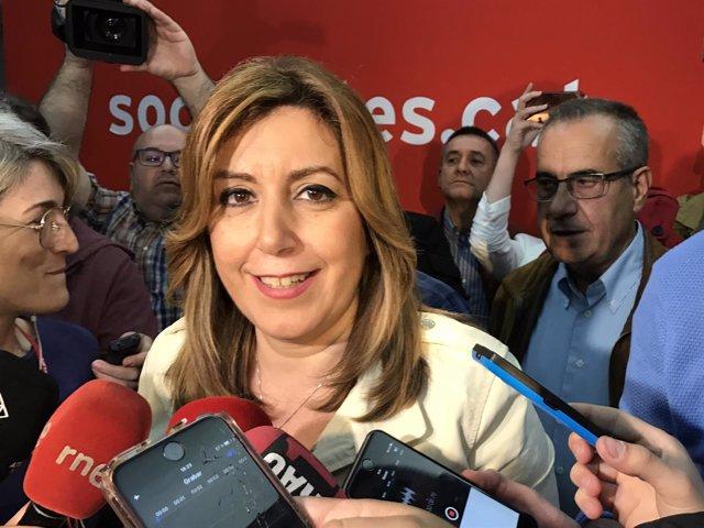 Susana Díaz (PSOE) Celestino Corbacho (PSC)