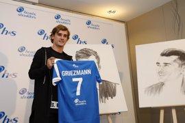"""Griezmann: """"Me veo favorito para el derbi"""""""