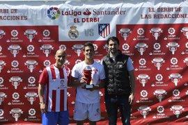 """Rubén de la Red: """"El Atleti ha cogido un nivel muy alto, será un derbi igualado"""""""