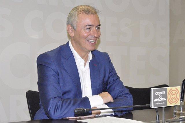 El diputado del PP en las Cortes de Aragón Javier Campoy