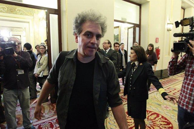 Marcelo Expósito en el Congreso