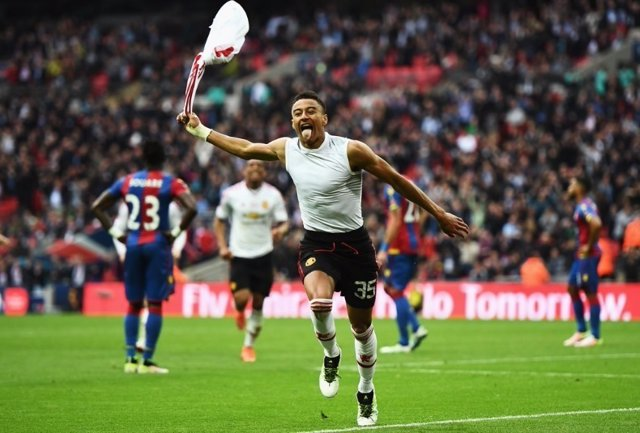 Jesse Lingard Manchester United FA Cup