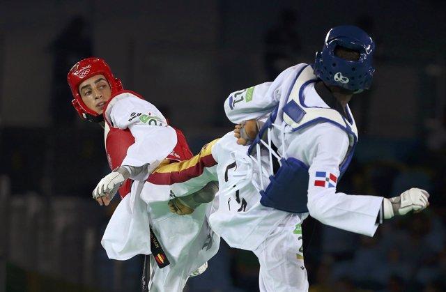 El taekwondista español Jesús Tortosa
