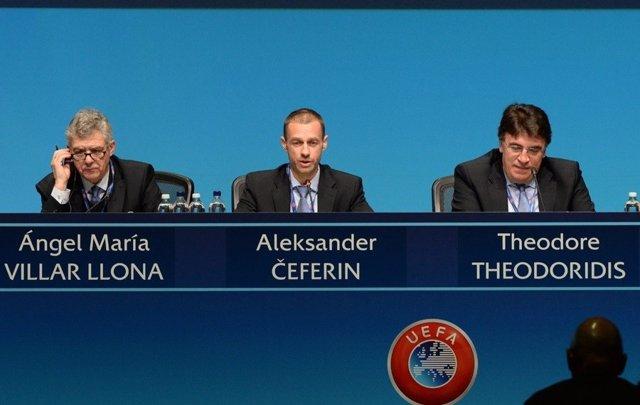 Ángel María Villar, reelegido vicepresidente de la UEFA