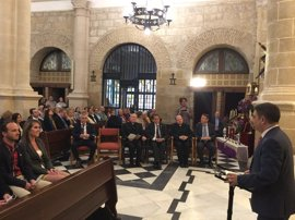 Reyes inaugura la iluminación artística de Iglesia de San Pedro de Mengíbar (Jaén), realizada por Fundación Endesa