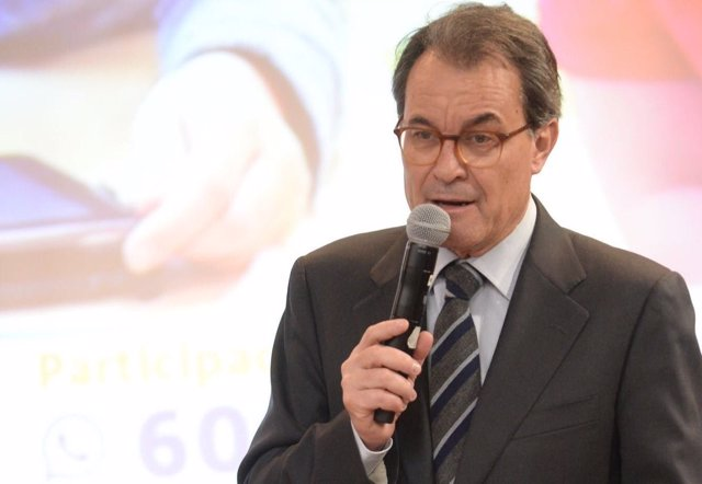 El presidente del PDeCAT, Artur Mas