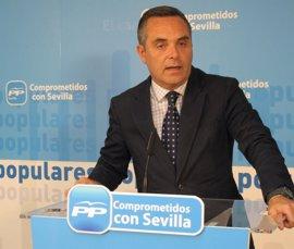 Juan Bueno anuncia su candidatura a la reelección como presidente del PP sevillano
