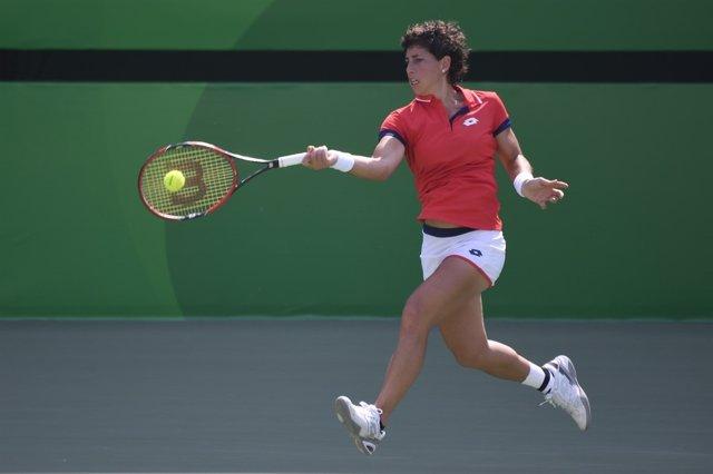 Carla Suárez en los Juegos Olímpicos