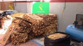 Detenidos por contrabando de tabaco tras vender 20 toneladas valoradas en 3 millones