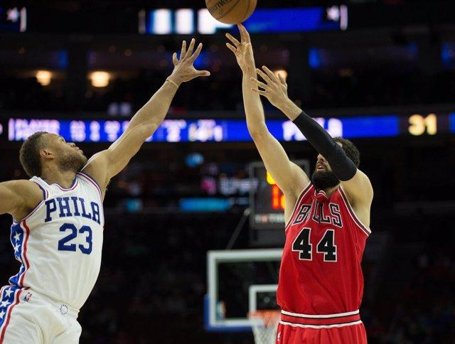 Mirotic en el Bulls - Sixers
