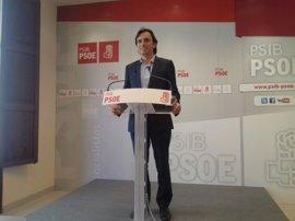 """El PSIB asegura que los PGE seguirán """"ahogando"""" a Baleares y critica la """"falsedad"""" del PP balear"""
