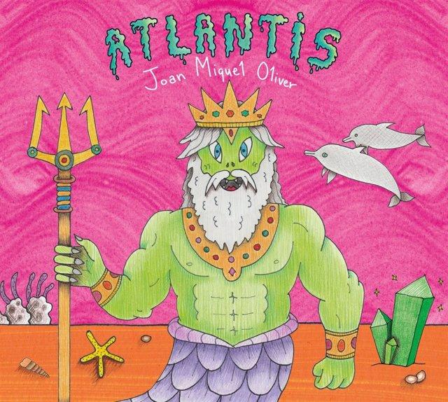 Portada del álbum 'Atlantis', de Joan Miquel Oliver