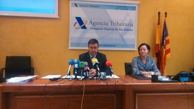 Rueda de prensa Agencia Tributaria