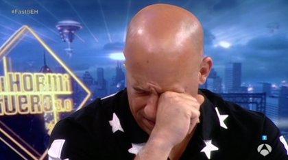 VÍDEO: Vin Diesel rompe a llorar en El Hormiguero al recordar a Paul Walker