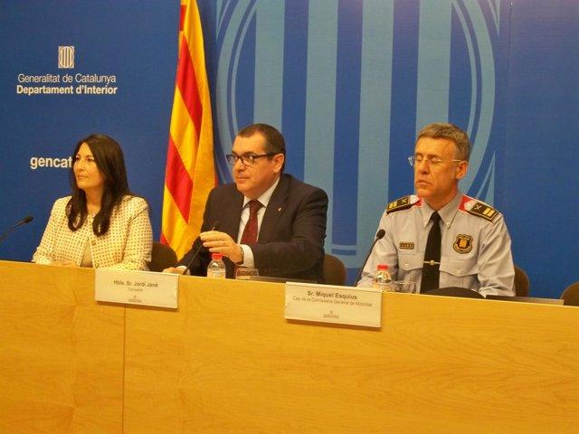 Jordi Jané, Eugenia Doménech y Miquel Esquius