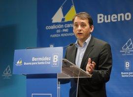 """Bermúdez dice que Costas """"lleva vacilando"""" a Santa Cruz de Tenerife durante los últimos diez años"""