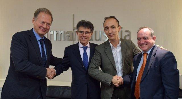 La Sociedad de Cardiología Pediátrica y FARMAINDUSTRIA firman un convenio