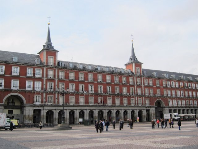 Casa de la Carnicería de la plaza Mayor de Madrid