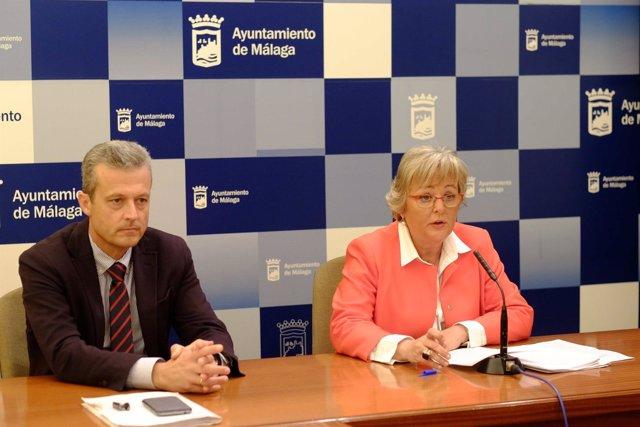 Teresa porras playas servicios operativos rueda de prensa ayuntamiento Málaga