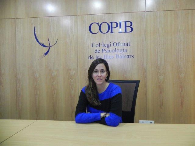 Mariona Fuster, vocal de Psicología Clínica del COPIB