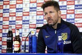 """Simeone: """"Jugar en el Bernabéu es igual que jugar en cualquier otro campo"""""""
