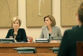 IU pide a Cospedal que aclare en el Congreso si sabía que dos buques con base en Rota iban a atacar Siria