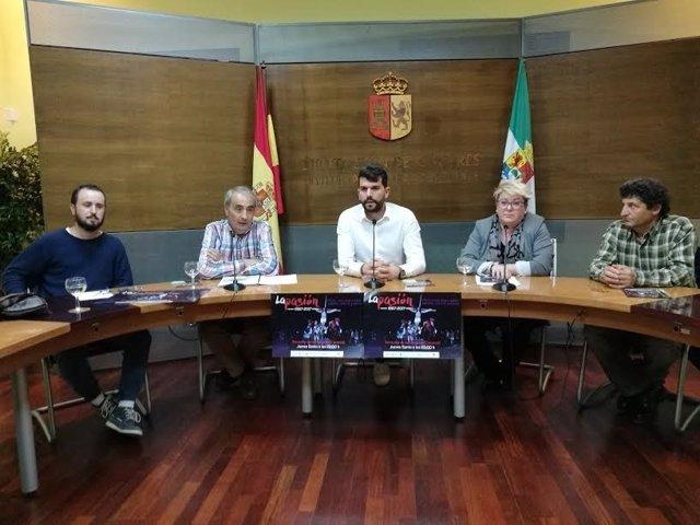 Presentación de 'La Pasión' de Torrecilla de los Ángeles (Cáceres)