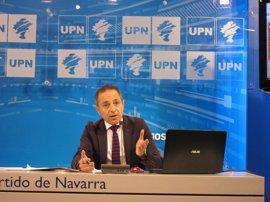 """UPN habilita una web para """"comprobar la subida de impuestos"""" en 2016 respecto a la campaña anterior"""