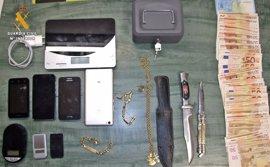 Dos detenidos en Llerena (Badajoz) por vender droga en su domicilio